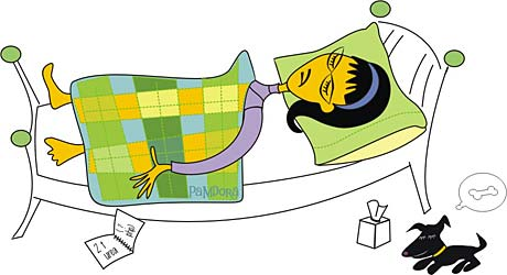 Illustration Friday: Blanket