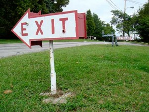 Capri_motel_exit_sign