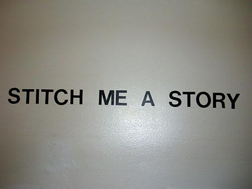Stitch Me a Story