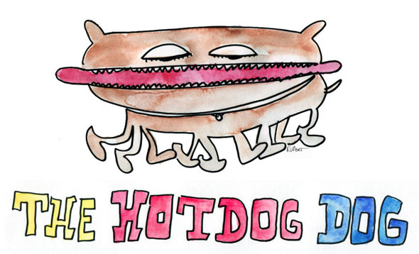 The Hotdog Dog
