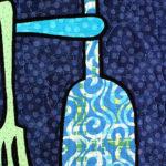 kitchen quilt detail