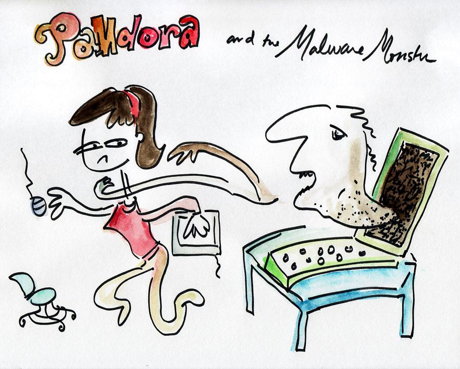 PaMdora and the Malware Monster