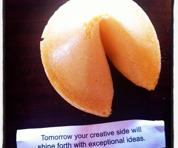 Inspiration Fortune Cookie for PechaKucha #6