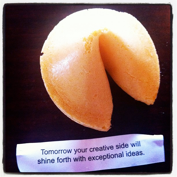 Inspiration fortune cookie