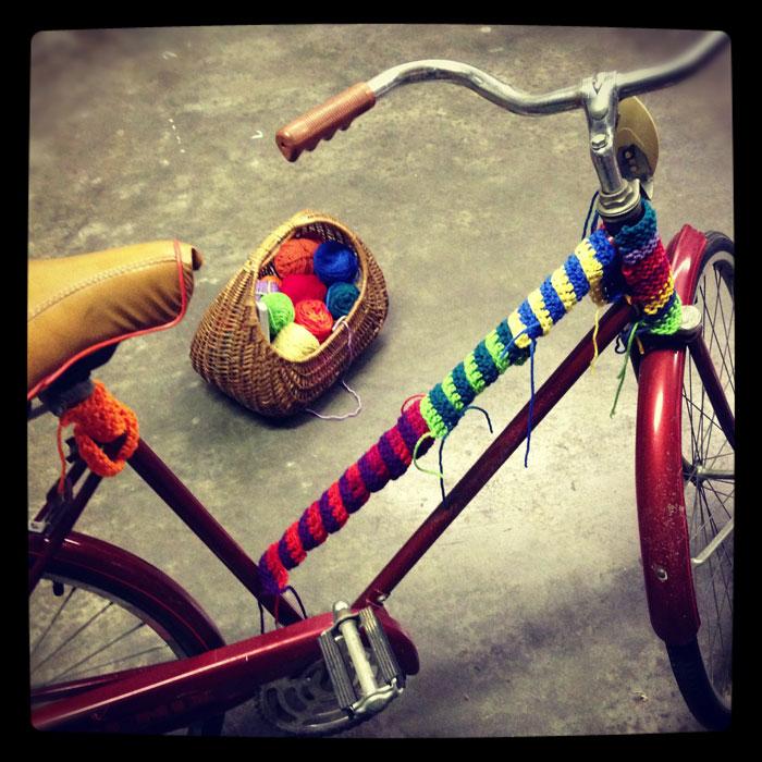 yarn-bike