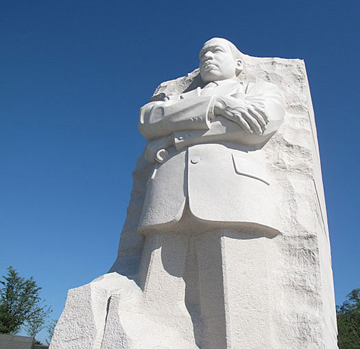 "Reflections on public art on the 50th anniversay of MLK's ""I have a Dream"""