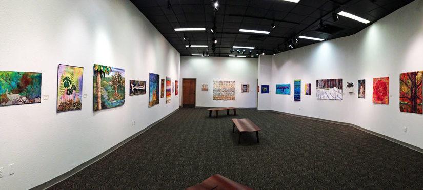 Uncommon Threads exhibition at Evangel University