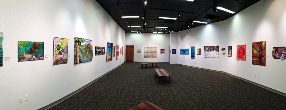 Uncommon Threads exhibition at Evangel University